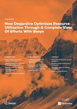 desjardins benefits from Beeye