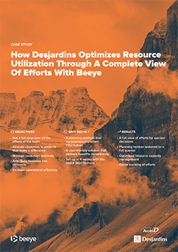 desjardins benefits from Beeye