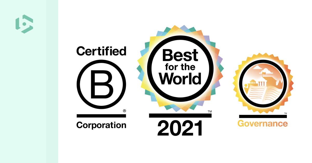 Beeye nommé Best for the World dans le domaine de la Gouvernance 2021